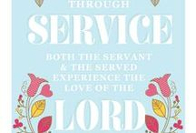 Church - LDS - Compassionate Service / by StoreSixty Six