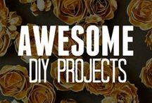 Awesome DIY Projects / Get your DIY craft on with one of our DIY craft projects! What kind of DIY project are you looking for? Browse our board for ideas! Have fun with a do it yourself craft.