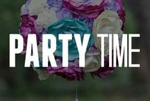 Party Time! / It's your party and you can cry if you want to! We recommend some crafting instead, though. Get ideas for party crafts for your next get together, DIY party, or just for fun! Which DIY party decorations are your favorite? Pin away!