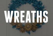 Wreaths / A classic decor piece for any reason or season! Get ideas for your next DIY wreath. / by ConsumerCrafts.com
