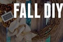 Fall DIY Inspiration / As the leaves change color, get inspiration for fall crafts from ConsumerCrafts! Whether you call it fall, autumn, or harvest - we have craft ideas for the season!
