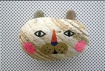 Painting on Pebbles / by SophieGoesGreen