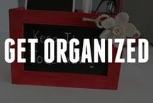 Crafty Organizational Ideas / Stay organized with these crafty ideas for your home or office. Find tips on how to organize, DIY storage ideas, and more! / by ConsumerCrafts.com