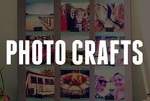 Crafting with Photos / Browse our ideas on how to craft with photos! Think outside the scrapbook with photo crafts.