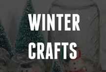 Crafting the Winter Blues Away / Keep your winter blues away with our Winter & Holiday Crafts pinboard! There's a winter craft or a holiday craft just for you, or find winter crafts for kids. Get crafting!  / by ConsumerCrafts.com