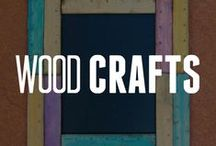 Crafting with Wood / Do you need ideas on how to craft with wood? Check out our DIY wood projects here! / by ConsumerCrafts.com