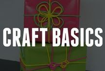 Craft Basics / Get back to basics with these craft ideas. These basic crafts are great for anyone from beginners to the extremely crafty. Get started by browsing our pins now! / by ConsumerCrafts.com