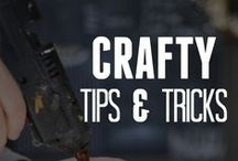 Crafty Tips & Tricks / by ConsumerCrafts.com