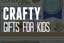 Crafty Holiday Gifts for Kids / Looking for a great holiday gifts for kids ages 3-7? ConsumerCrafts can help. Read our blog post and check out the best gifts for kids this season.