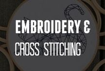 Embroidery & Cross Stitching / by ConsumerCrafts.com