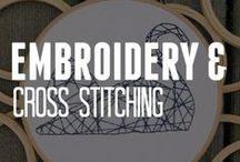 Embroidery & Cross Stitching