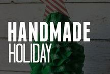 Craft a Handmade Holiday / Project ideas on how to create a handmade holiday with inexpensive supplies from ConsumerCrafts.com. #HandmadeHoliday14 / by ConsumerCrafts.com