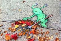 Art Appreciation: Street Art / by Vickie Miller