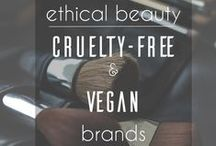 Vegan Beauty / My favourite vegan and cruelty-free makeup, nail, hair, and skin products and those on my wish list!