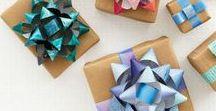Balení dárků - výroba propriet