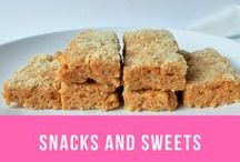 Snacks and sweets / Healthy and not so healthy snack recipes