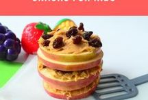 Treats for kids / Easy to make snacks and treats for kids of all ages. Ideal for busy moms and fussy kids. Healthy, delicious and fun!