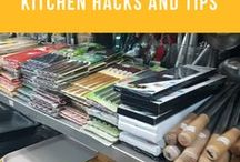 Food Hacks and Tips / Tips and tricks for cooking, shopping and cleaning your kitchen. Making your home life easier.