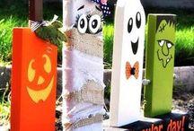 || Halloween-Ideen || / Tolle Bastel- und DIY-Ideen für Halloween sowie leckere und originelle Snackideen und Rezepte.