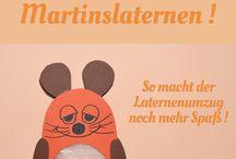 || St. Martin || / Hübsche Martinslaternen, kreative DIY-Ideen und leckere Rezepte rund um Sankt Martin