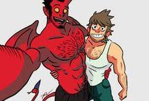 Tobias and Guy