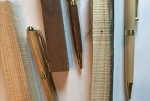 New Stock / New pens in elm, cherry, and walnut.