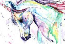 Unicorns / Be a unicorn in a field of horses