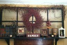 Home Decor Ideas / by Crystal Lawburgh