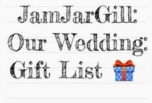 Our Wedding: Gift List / Please find here items which are from a selection of stores which don't offer a gift list option. Random items all in one place. Many thanks in advance for your generosity.  Please comment and mark as purchased to avoid duplication. Much Love x