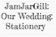 Our Wedding: Stationery