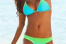 Bikinis & Beachwear / Ideas for a possible women's bathing suit line and nice shapes and curves to look at.