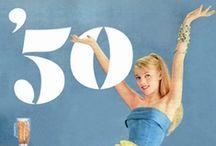 Années 50 / Les années 50 sont de retour dans nos maisons avec des meubles aux pieds fins ou campas et aux couleurs vives. / by Mistergooddeal