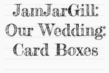 Our Wedding: Card Boxes, Guest Books & Collection Jars / I thought I wouldn't need another wedding board until I started looking into options, then I quickly realised there are a lot of gorgeous options to pick from and I need somewhere to review them... (I do however refuse to pay any more than £40!)