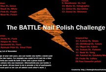 'The Battle Nail Polish Challenge' / The longest challenge ever! / by Annie Suzie