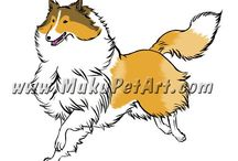 My Pet Art / Gallery of my pet art! I enjoying drawing animals in my manga (anime) style! Feel free to check out my pet art website, www.mukupetart.com. I sell my illustrations, pendants, keychains, figurines and more - breed specific art at my shop, http://tatsushop.artfire.com. I can also create custom art of your pets! / by Shinrin Art