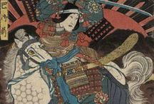 Traditional Japanese Art / Beautiful, grotesque, fine, whimsical and fanciful traditional Japanese art. / by Shinrin Art