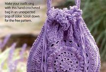 Crochet Purses and Bags / by Pamela Bogue