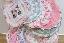 Crocheted Dishcoths and Hotpads / by Pamela Bogue
