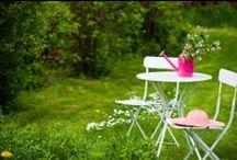 Côté jardin / Avec le retour du printemps, Mistergooddeal bourgeonne de bonnes idées pour aménager votre jardin, pour des journées apaisantes et ensoleillées !  / by Mistergooddeal