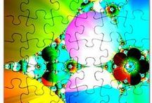 * Puzzles to Delight You * / Puzzles to Delight You - puzzles created by my artist friend at various PODs #puzzles #jigsaw