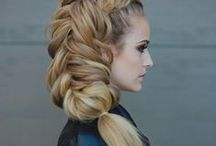 Wow-factor hair / Hairstyle fascination.