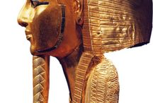 EGYPT: Sarcophags / cartonnage / mummy mask