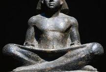 Egypt: black stone