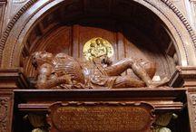 Polish knight tombstones XVI_XVII