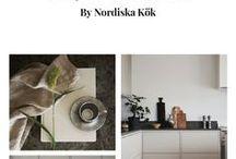 Kitchen design by Nordiska Kök / www.nordiskakok.se