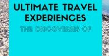 Ultimate Travel Experiences / The best travel experiences from around the world. Travel quotes, ideas, inspiration, adventure, tips and destinations to fuel your wanderlust.   Max 3 pins per day. Vertical pins only. MANUALLY pin one for every pin added. To be added, follow my profile and send me a message.