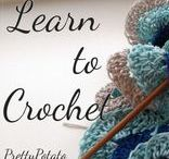 Crochet Tips & Tutorials | Pretty Potato / As we learn to crochet we come up with our own little tips and tricks along the way, in these posts I will share with you some of the different methods I have come up with over the years.