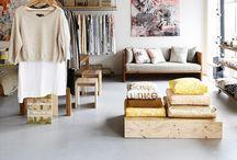 Boutiques & Stores  / shop fronts & online sites