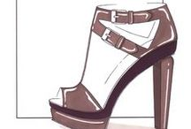 Shoe sketches / by Rosella Vaccaro