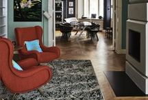 Featured Pieces / Finding the right home for our carpets.